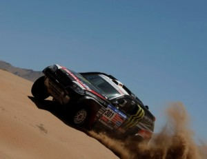 Stephane Peterhansel BMW X-raid Dakar 2011