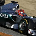 Mercedes F1 2011 Valencia Test