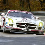 Mercedes Benz SLS AMG GT3 Mamerow  ROWE Racing