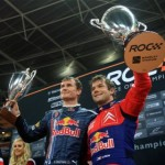 Sebastian Loeb RoC  Wembley David Coulthard