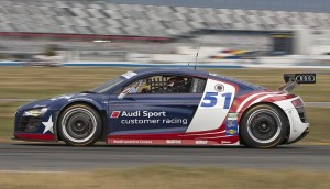 Audi R8 GRAND AM Daytona Test