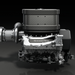 Mercedes-Benz, V6 Motor, 2014 Power Unit