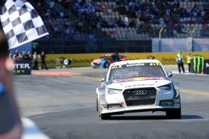 Mattias Ekström gewinnt WRX in Hockenheim - foto: art-of-speed.net